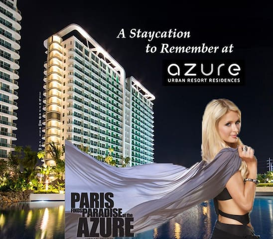 Staycation to remember at Azure Urban Resort Res - Manila - Apartment