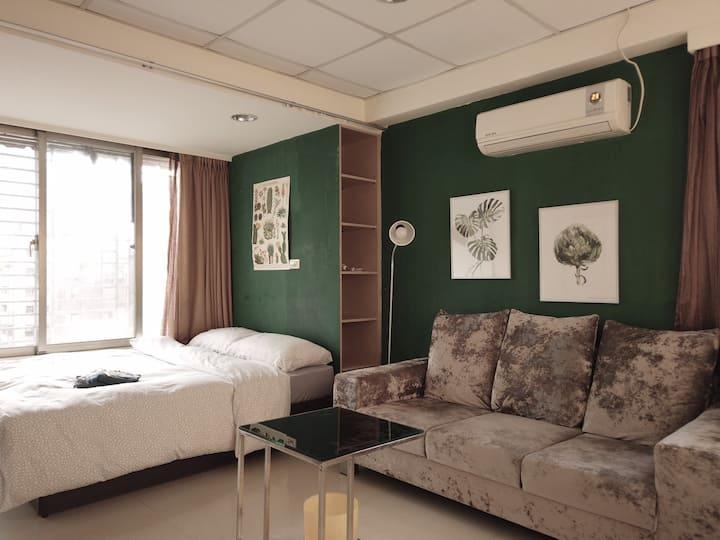 【寄寓-月租套房】忠孝延吉D MRT Zhongxiao Dunhua Monthly Rental