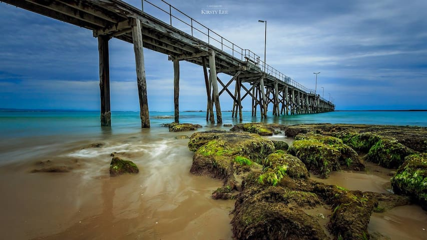 Perfectly relaxing at Port Noarlunga - Port Noarlunga