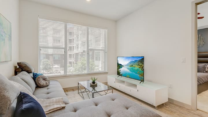 Spacious 2BD with elevated luxury for longer stays