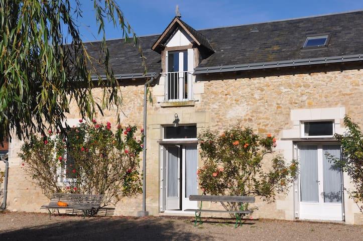 Maison de vacances avec piscine - Chambourg-sur-Indre