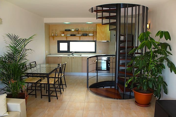 Tina's lovely apartment - El Cotillo - 平房