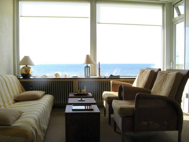 Vuurtoren - Panoramablick aufs Meer - Noordwijk - Lägenhet
