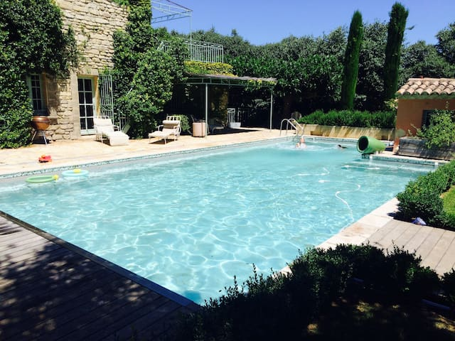 Stunning house with salt-water pool and gardens. - Saint-Siffret - Ev
