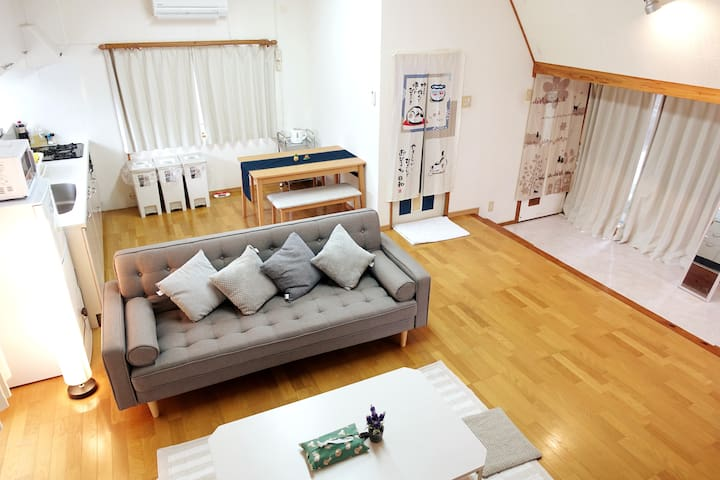 3 Bedroom House, 3min Expway, Center of Okinawa