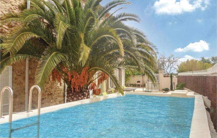Holiday cottage with 6 bedrooms on 233m² in St Andre de Roquelongu