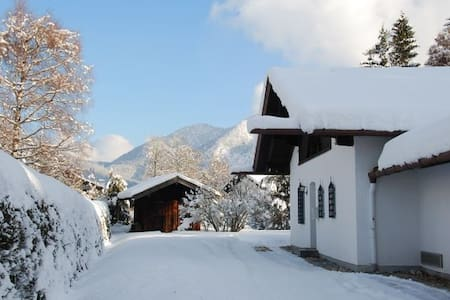 Ferienhaus mit Pool und Bergblick. - Rottach-Egern