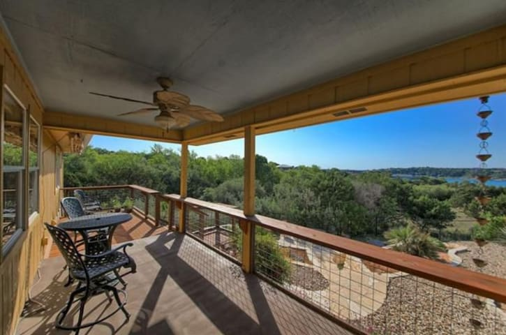 Lake Travis home with a lake view!