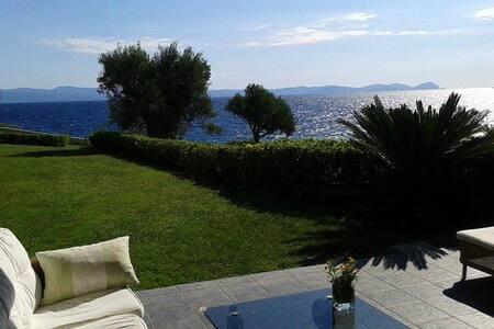 Ασύλληπτη θέα μπροστα στη θάλασσα - Villa