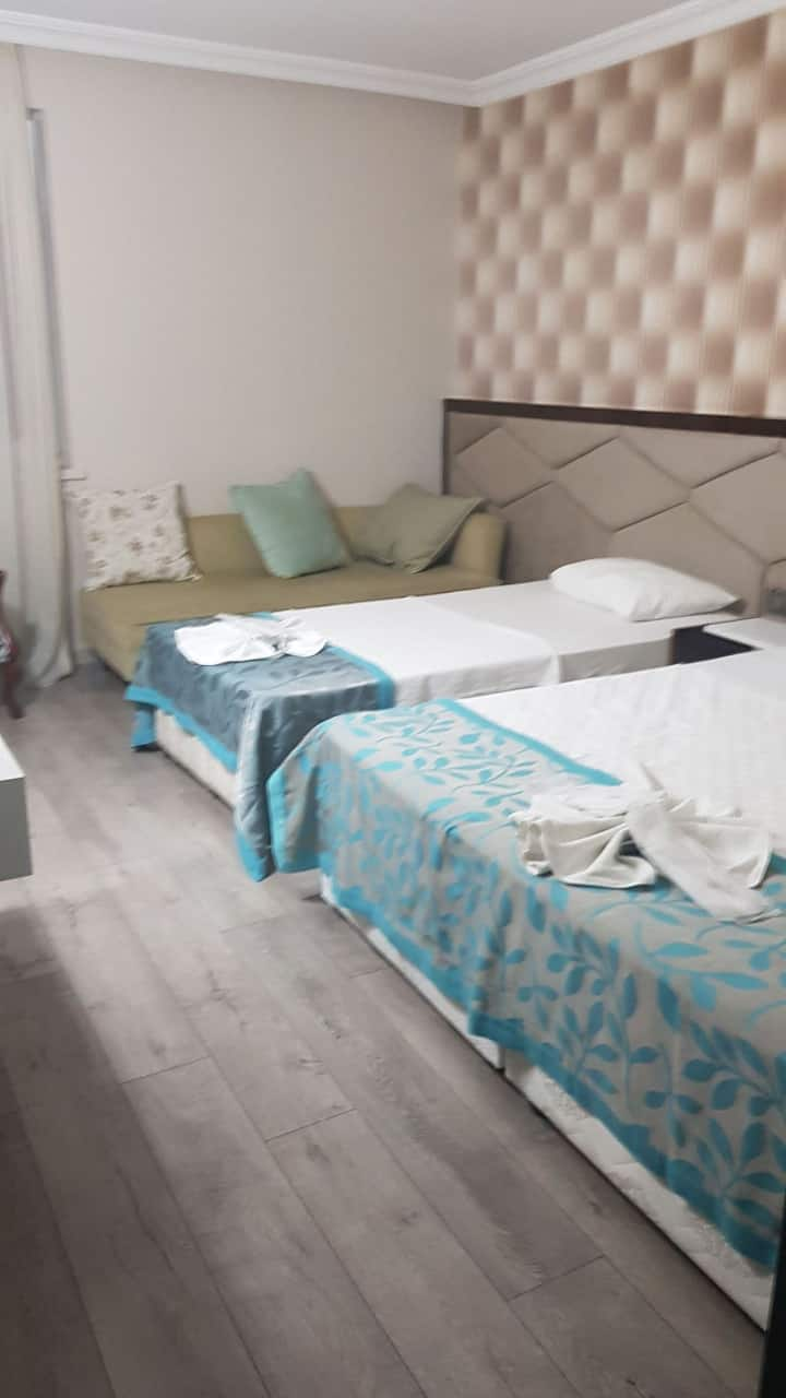 Bir hotel odaları