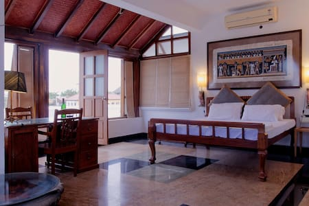 Terrace room with Sea View terrace - Puducherry