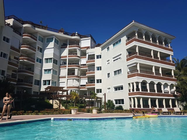 Confy Beach Frontline Apartment in Juan Dolio - Playa Juan Dolio - Daire