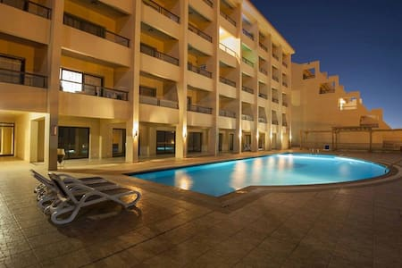 Studio at the Beach - The View Resort - Qesm Hurghada - Apartment