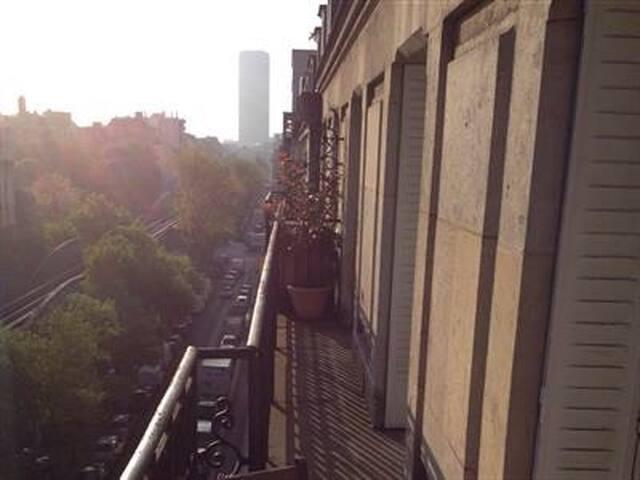 Charme, Eiffel, 2 chbres, balcon - Paris - Wohnung