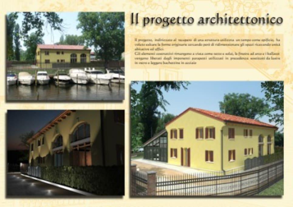 Vista esterna e contesto architettonico del Residence
