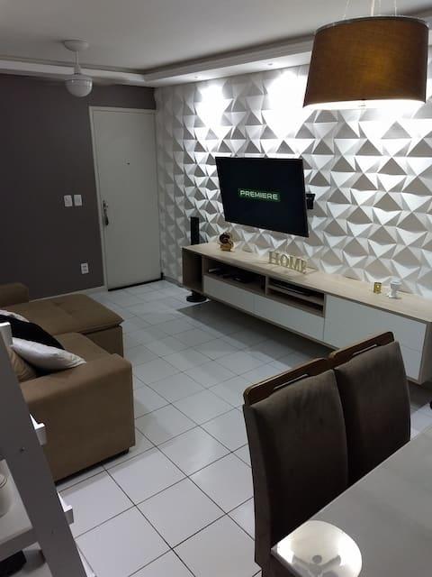 Entire AP, very cozy in beautiful Maceió