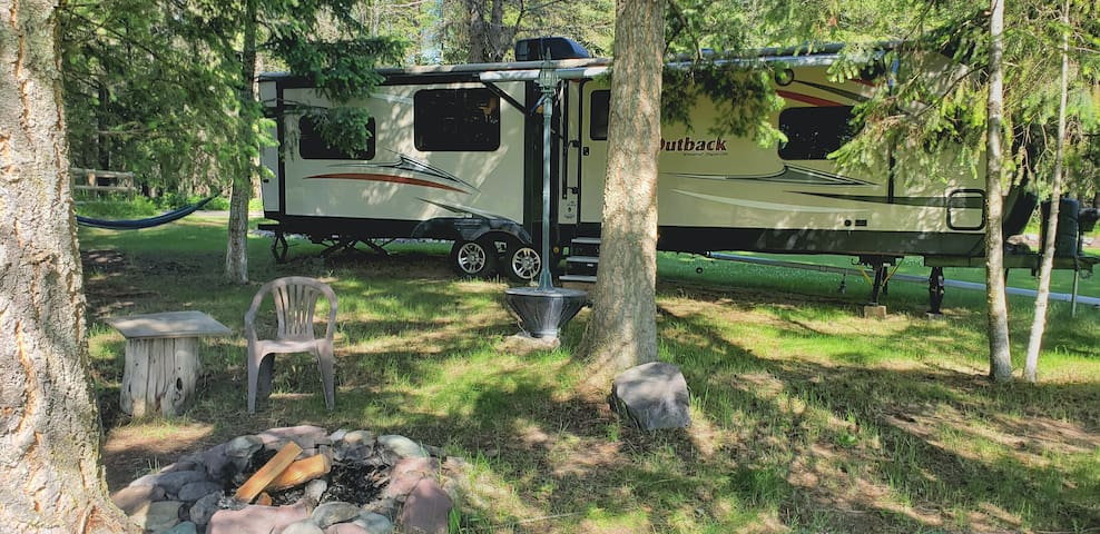 Luxury Glacier RV Camping for Two