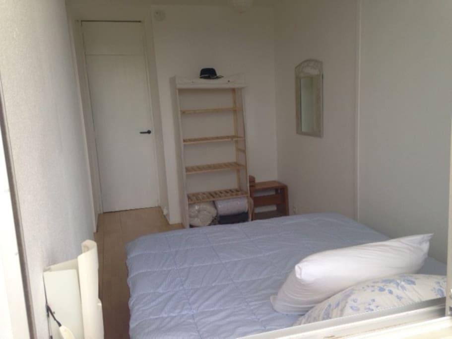 chambre (lits 2 couchages) literie neuve