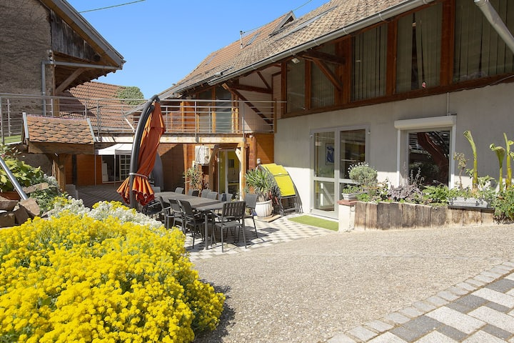 Le Clan - Familly lodge with private spa