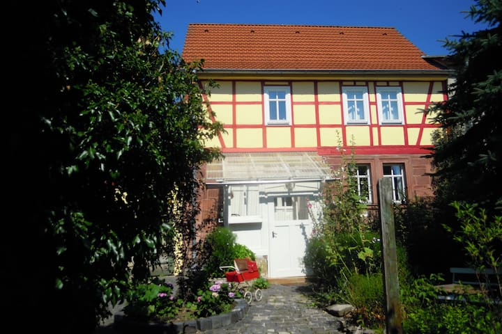 Luxurious holiday home in Steinthaleben Thuringia with private terrace