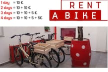 Rent a bike, reserve your bikes.