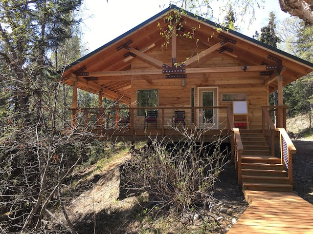 Cabin situated on Rabbit Creek