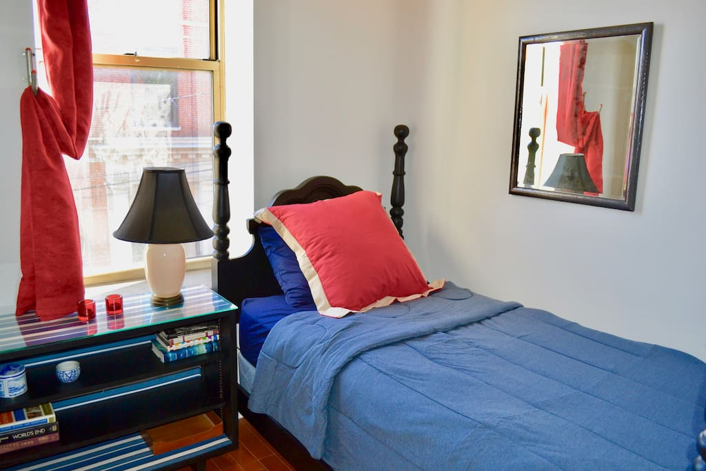 2 comfortable beds, quilts, blankets and pillows to make you right at home and promise a great night sleep