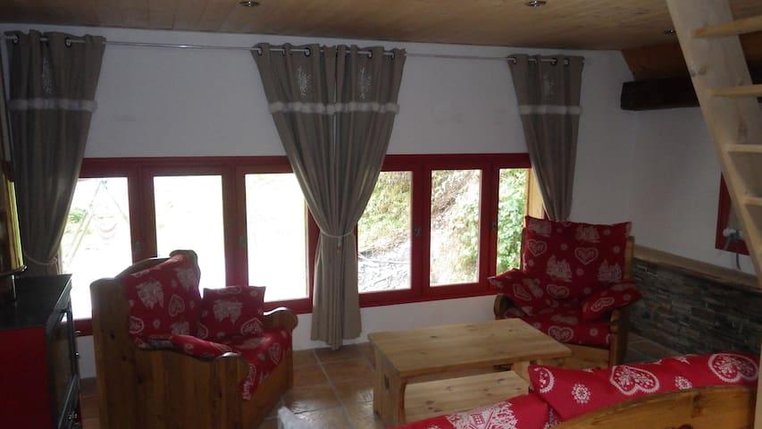 Appartement entre lac et montagne proche Annecy - Leschaux - Flat