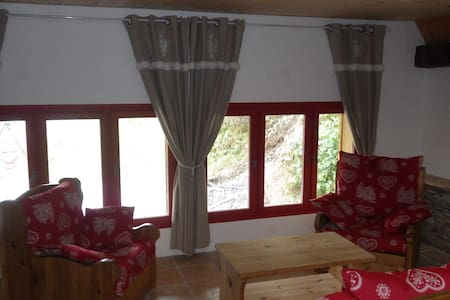 Appartement entre lac et montagne proche Annecy - Leschaux