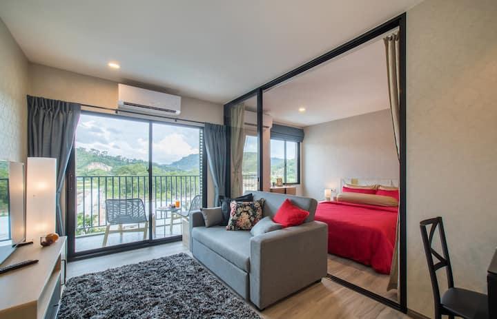 Superb 1BD apartment at nature resort near the sea