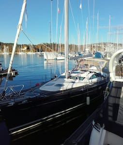 DoubleBdRoom in yacht 15 min to cty - Oslo