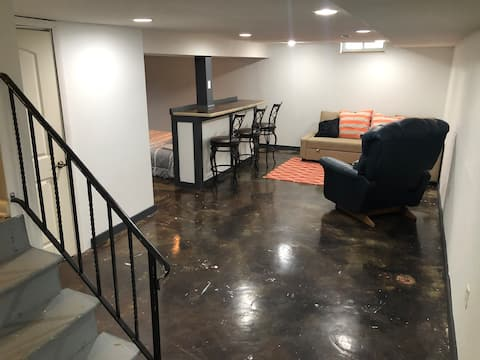 Private Basement and Bedroom