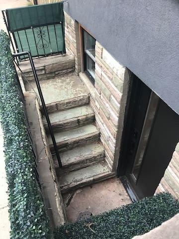 Semi-private entrance