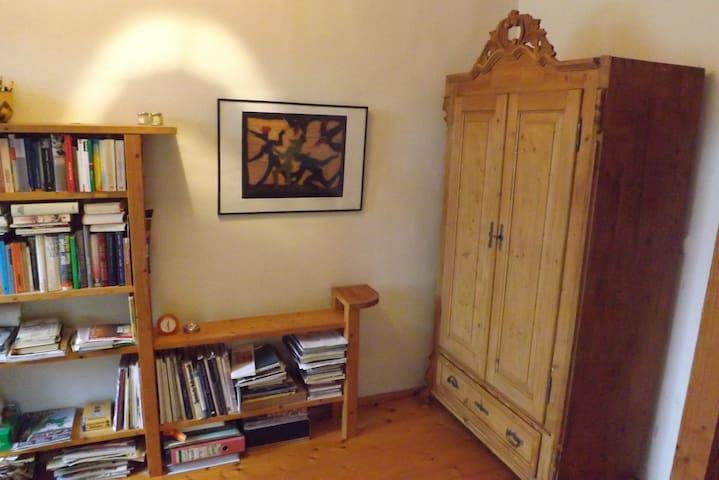 Zimmer auf idyllischem Bauernhof - Lehesten - Huis