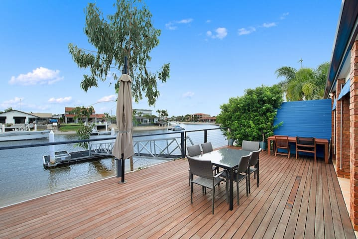 Family Home on the Mooloolaba canal