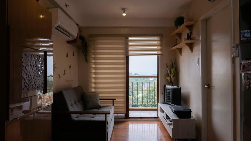 Living room/additional sleeping area