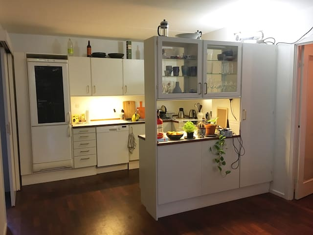Shared kitchen with all necessary amenities