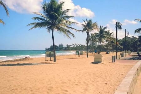 Beach 5 min 2 bedrooms WIFI A/C Public transport 4 - San Juan - Apartment