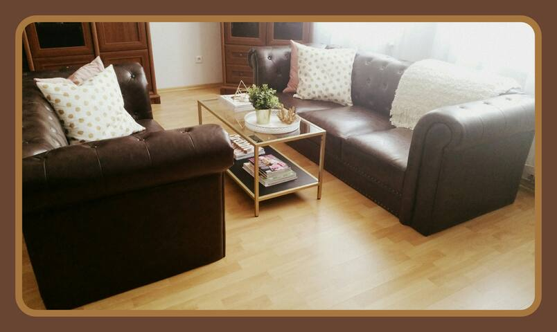 Spacious apartment in the city center of Kosice