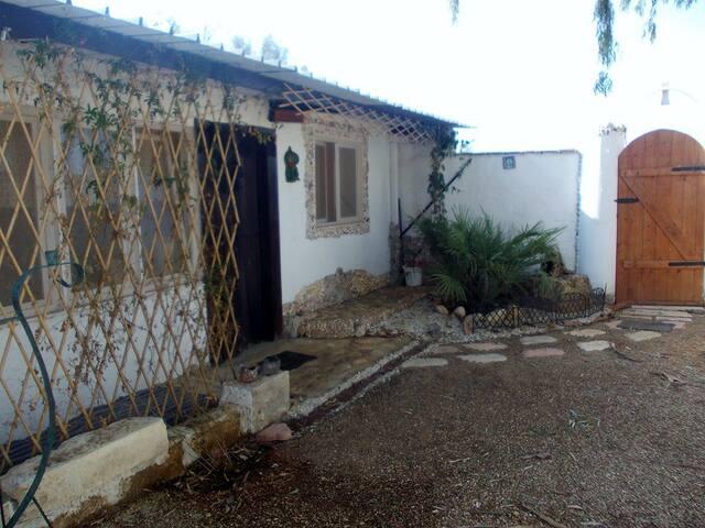 Ferienhaus  mit eigener Terrasse für2-3Personen