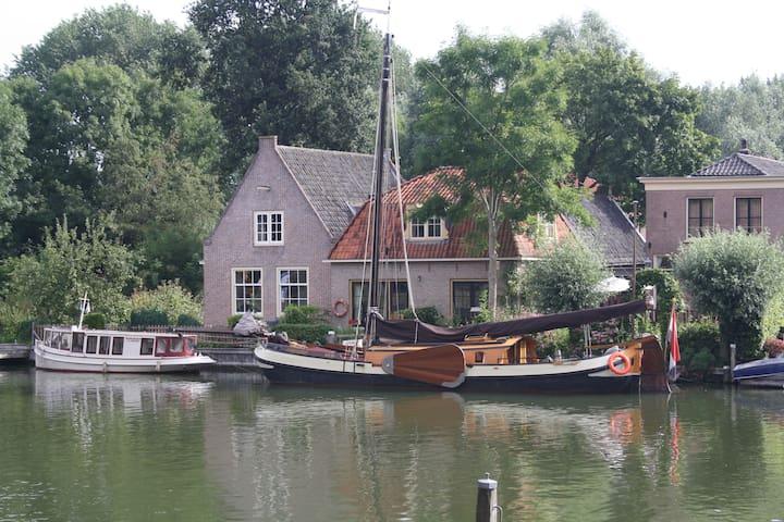 Voilier - bateau maison à 20 min d'Amsterdam