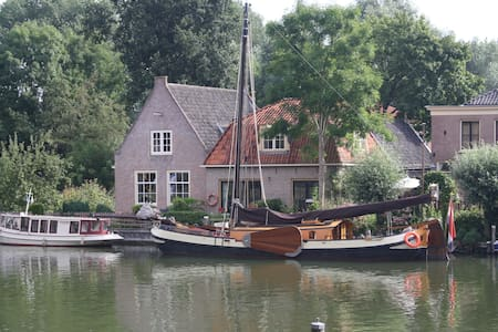 Sailingvessel - house boat 20 min from Amsterdam - Weesp