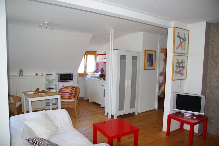 Holiday- and exhibiton-Apartment close to Nürnberg - Schwaig - Huoneisto