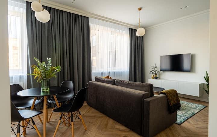 Cozy Beautiful Apartment In Kaunas Center