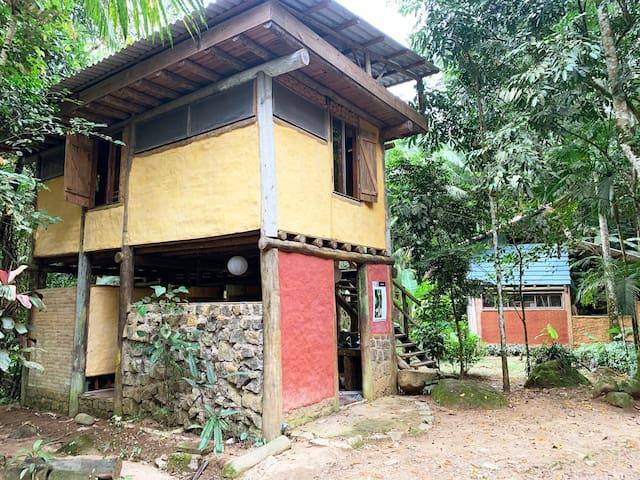 Quarto coletivo em Ubatuba c/ vivência ecológica#1
