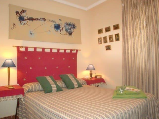 Habitacion  camas de matrimonio - Ciudad Real