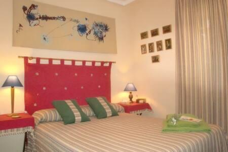 Habitacion  camas de matrimonio - Ciudad Real - Apartmen