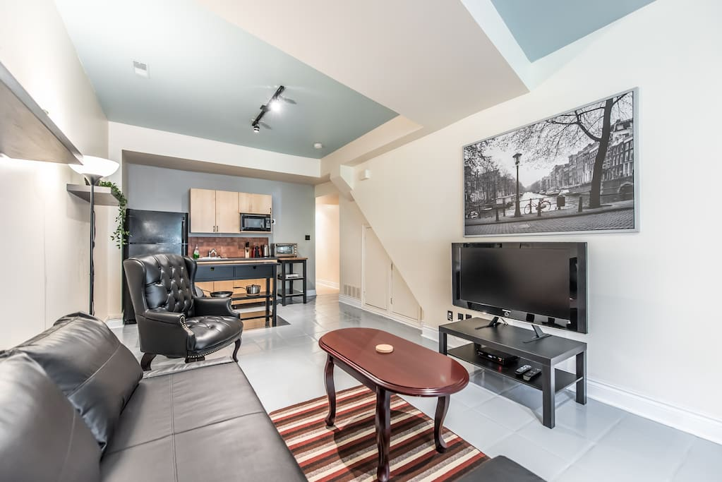 Living Room& Kitchen
