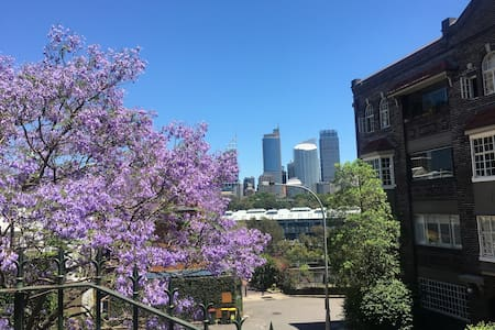 Cute apartment close to the city and harbour - Potts Point