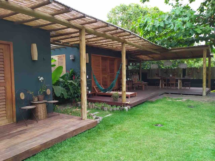 Casa,bangalô em Caraiva, confortável e encantador!
